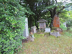 図3, 平家の落人(平谷に残る平知度の墓), 画像03.jpg
