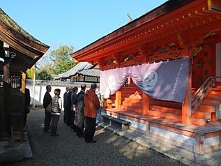 壺井八幡宮拝殿, 1008.jpg