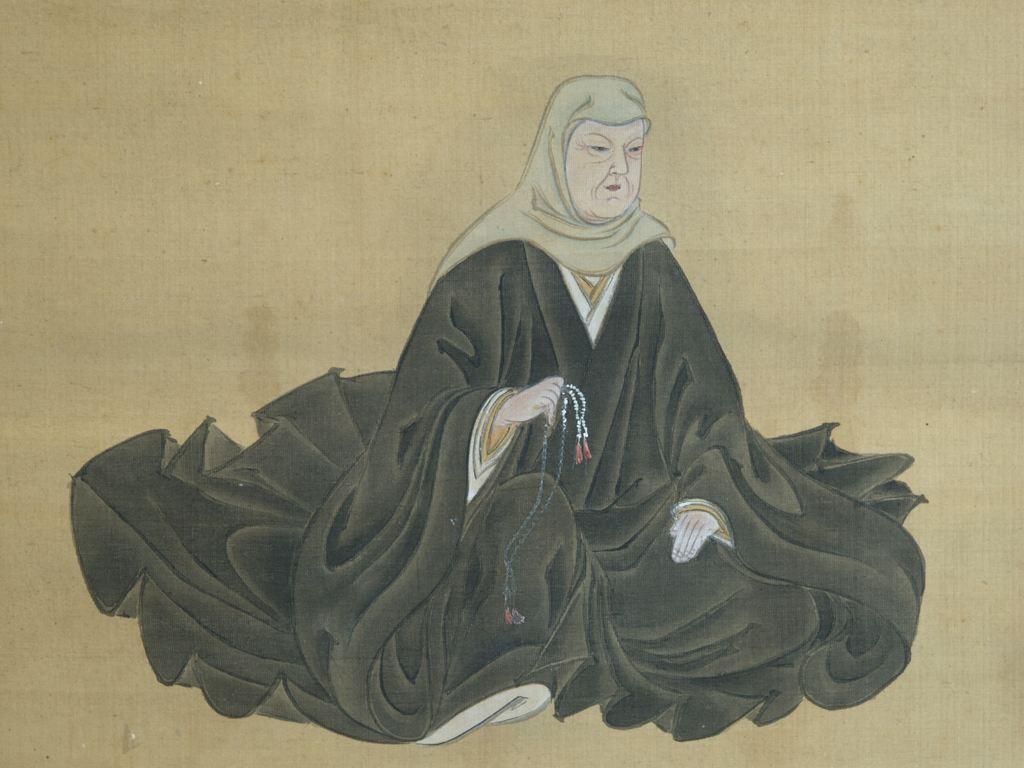 矩豊公御内室図像
