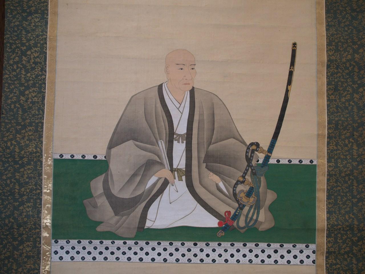 禅高公図像 2