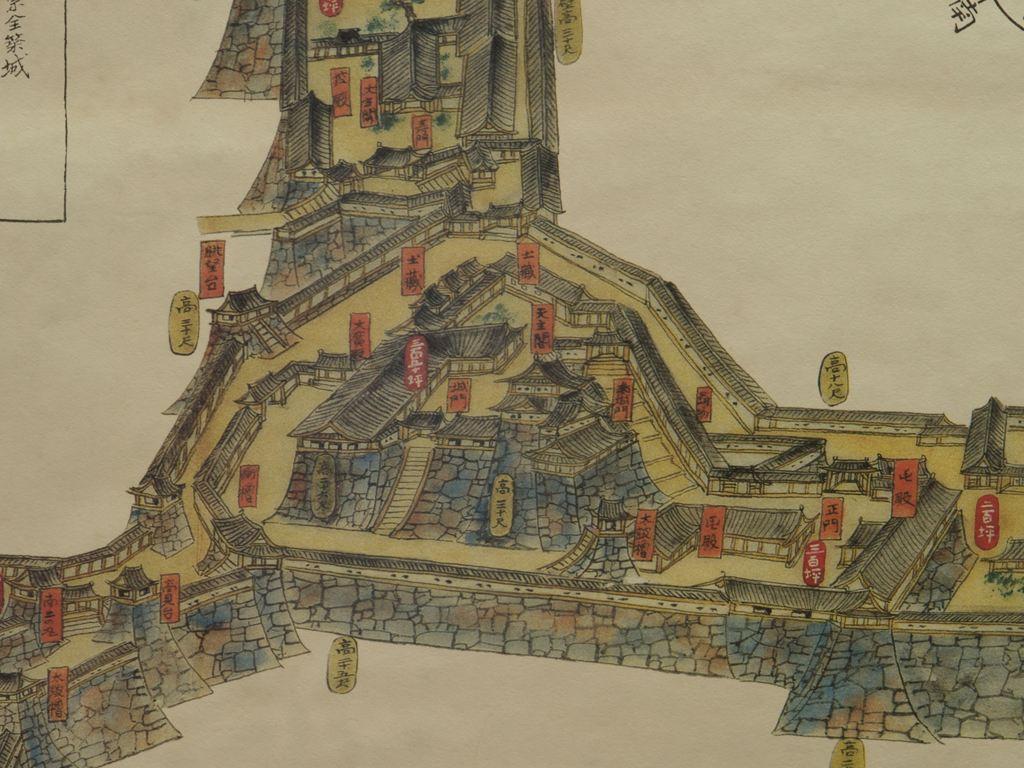 虎臥城見取図
